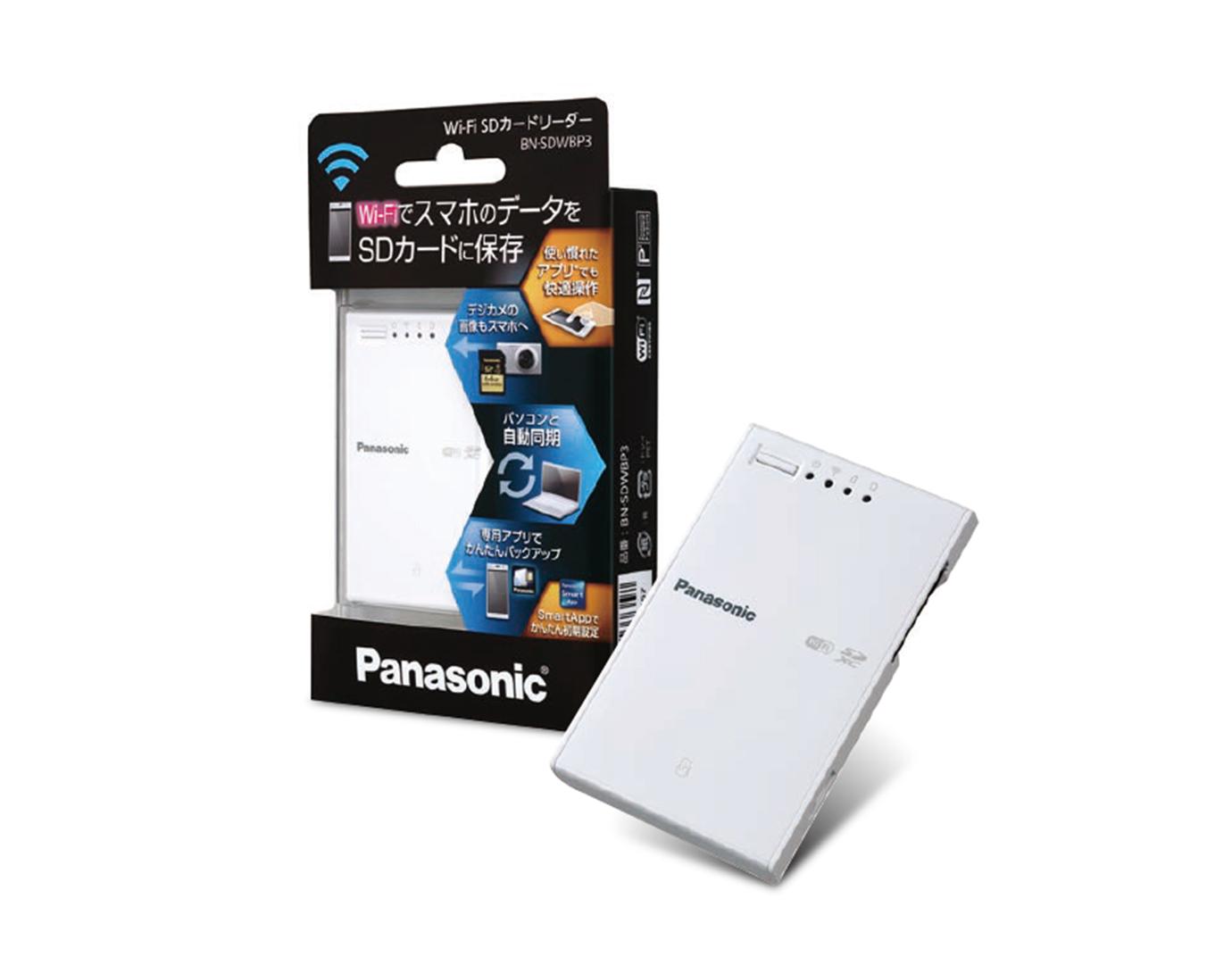 Wi-Fi SDカードリーダー
