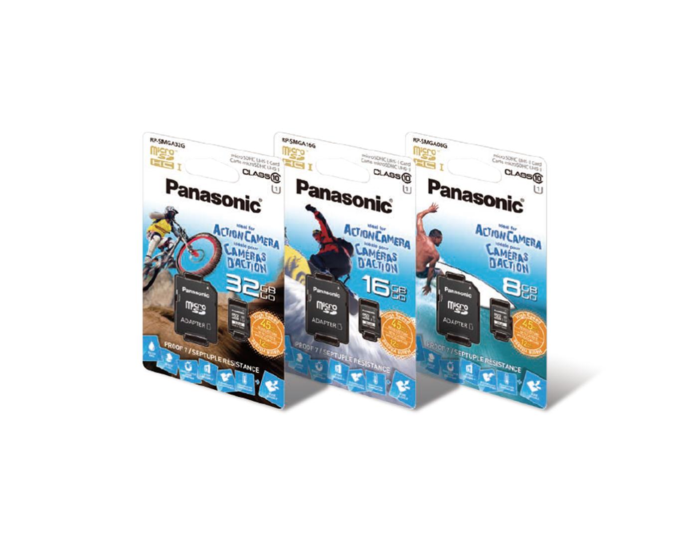 アクションカメラ用マイクロSDカード